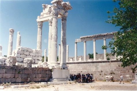 Templo de Trajano Pérgamo