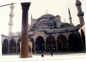 Patio Mezquita Azul