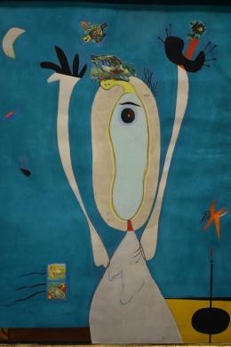 Pájaros e insectos. Miró
