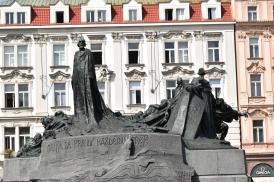 Monumento a Jan Hus.